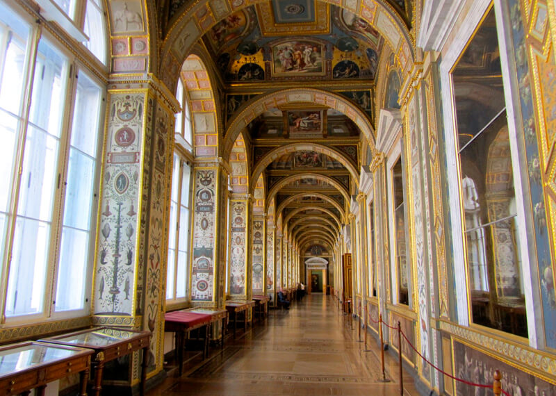 Hermitage Museum, St Petersburg, The Raphael Loggias.