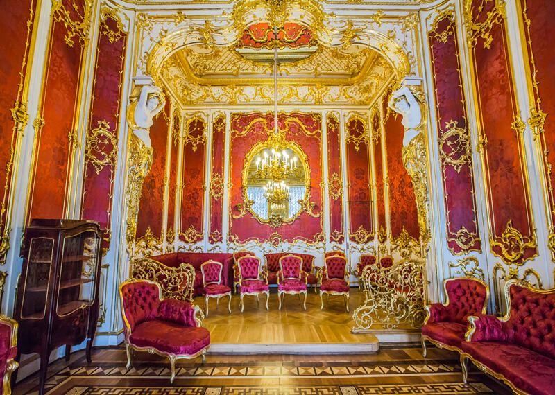 Hermitage Museum, The Boudoir of Empress Maria Alexandrovna