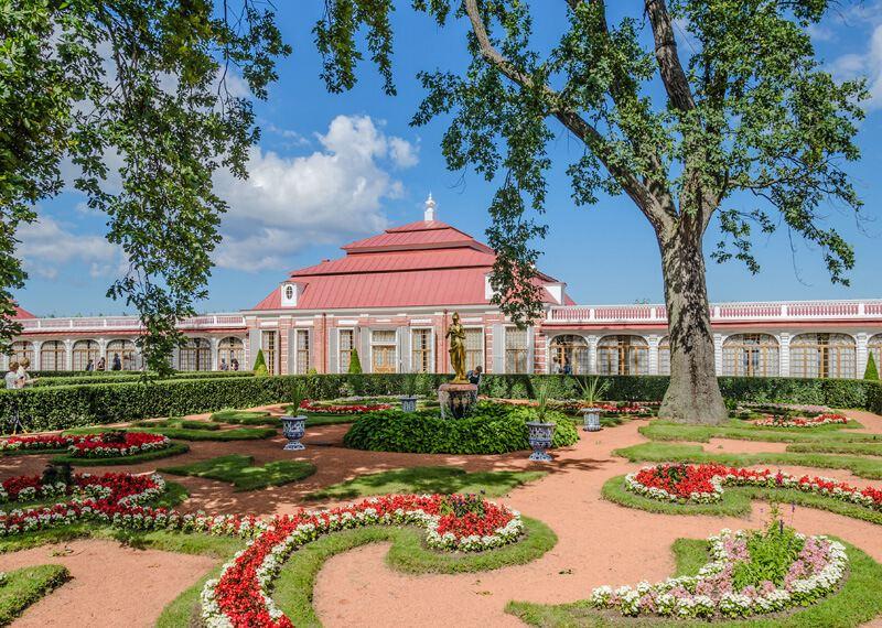 Monplaisir Palace, Peterhof