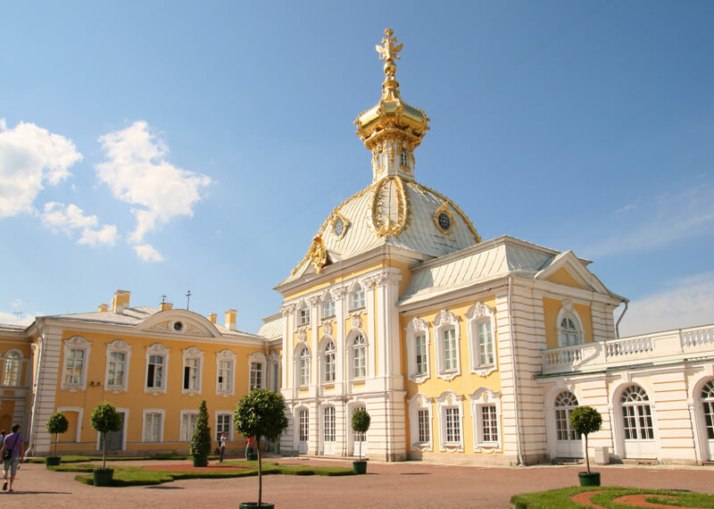 Peterhof Palace West Chapel