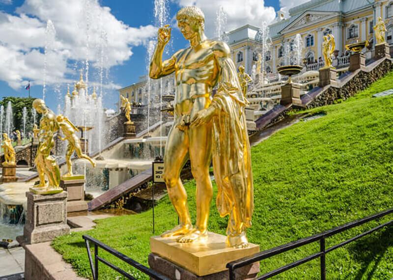 Peterhof-Fountains